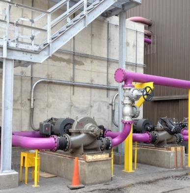 Cooling Tower E-1 Installation | JSR, Inc